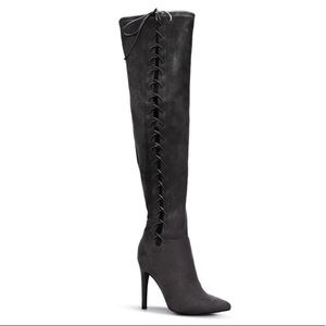 Vanetta heeled boots from Shoedazzle